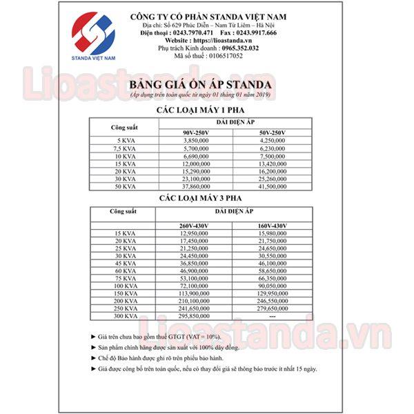 bang-gia-on-ap-lioa-3-pha
